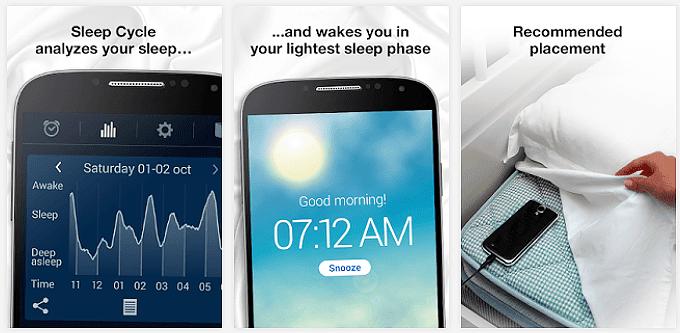 Sleep Cycle Alarm Clock App voor Android, iPhone en iPad