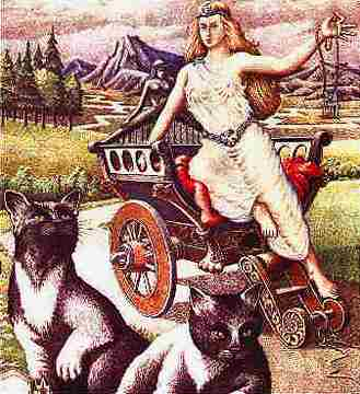 Freya And Brisingamen 2, Asatru Gods And Heroes