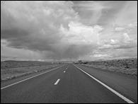 Nevada, I-80, Spring 2016, Black and White