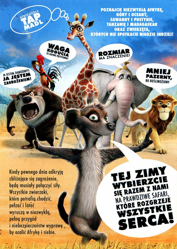 Ulotka filmu 'Safari (tył)'