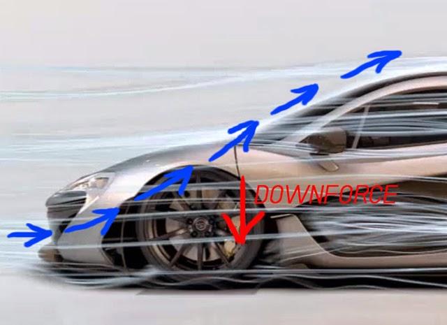 McLaren P1 Air guide