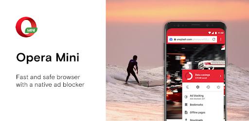 opera mini fast browser