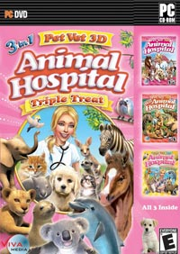 Pet Vet 3D: Animal Hospital -- Triple Treat - Review By John Goodman