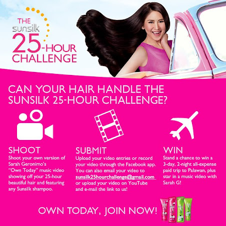 The New Sunsilk 25-hour Challenge