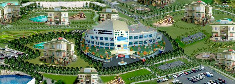 Palm Village Club Clusters Karachi