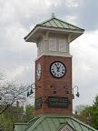 Corn Hill Landing clock tower