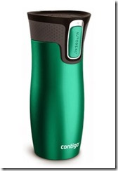 Contigo emerald green West Loop travel mug