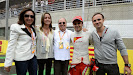 Felipe Massa with family