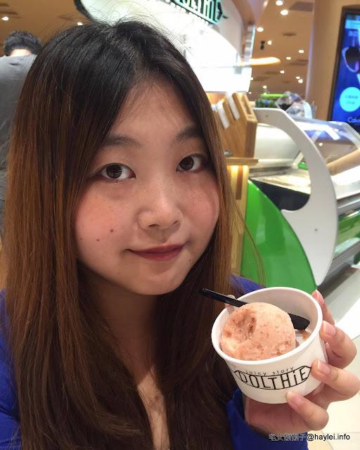 DOLTHiE 來自日本的嫩青品牌 兼具養生與美味的鮮果昔、義式冰淇淋 MITSUI OUTLET PARK 林口三井美食 服務親切 顏值高 保養品分享 健康養身 新北美食 日式料理 民生資訊分享 飲食集錦
