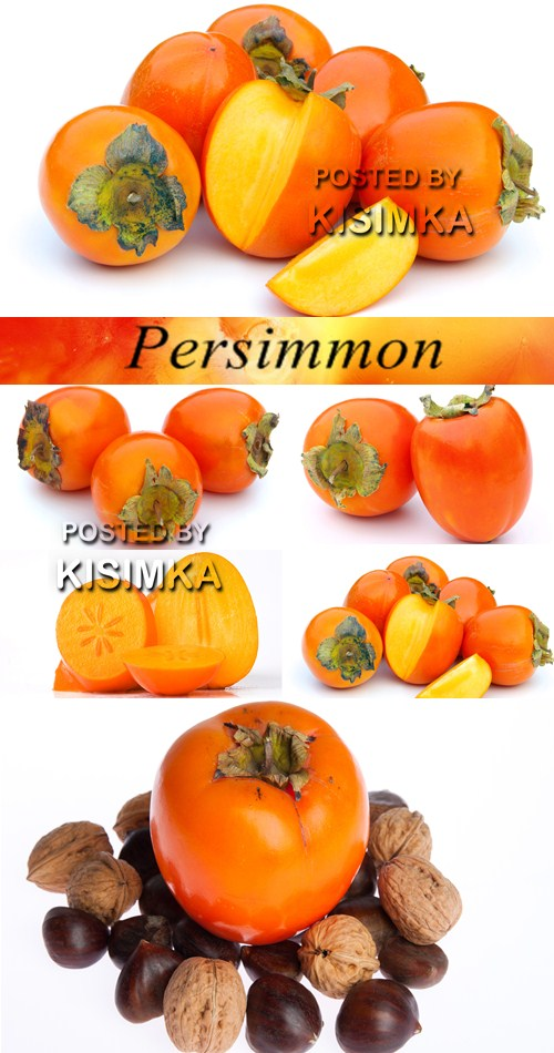 Stock Photo: Persimmon