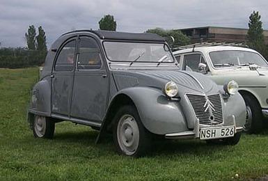 Citroën 1955 2 CV AZL