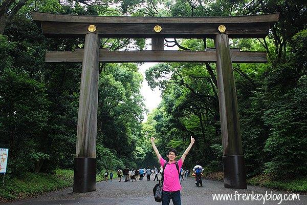 Gerbang Masuk ke Yoyogi Park