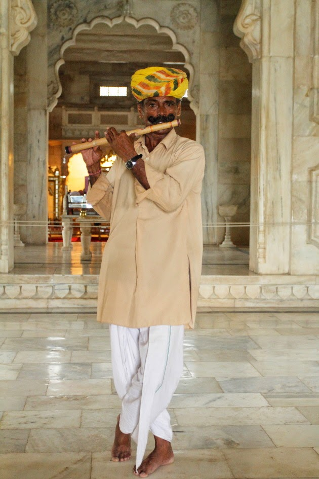 Flute Artist at Jaswant Thada, Jodhpur