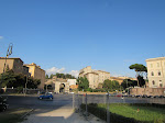Looking back towards the Circus Maximus