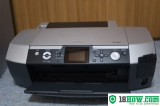 How to reset flashing lights for Epson PM-D800 printer