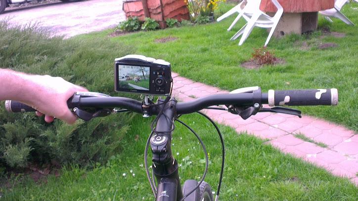 Statyw rowerowy DIY