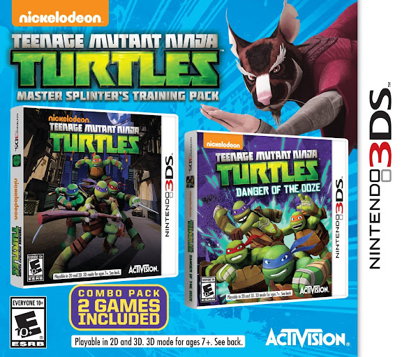 [GAMES] Teenage Mutant Ninja Turtles Master Splinters Training Pack (3DS/USA/MULTi2)