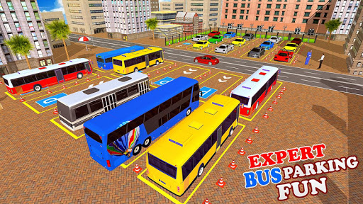 Modern Bus Drive 3D Parking new Games-FFG Bus Game apktram screenshots 2