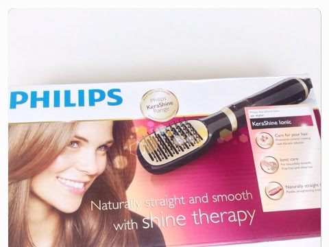 Philips KeraShine AirStyler to #‎StyleYourShine