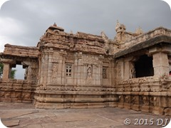 One of the many temples in Pattadakal