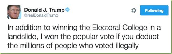 trump illegal popular votes