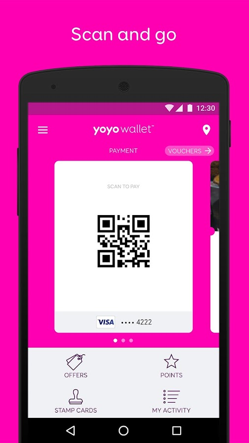 Yoyo Wallet- screenshot