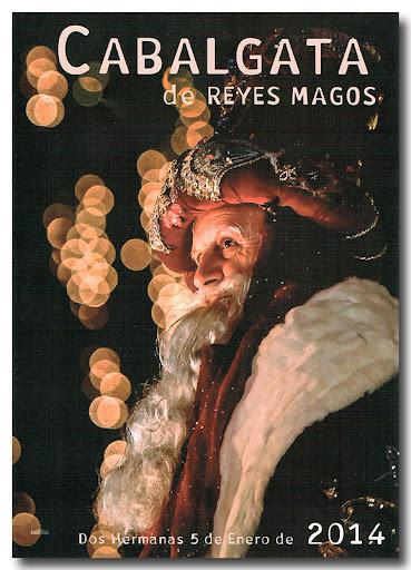 Cartel Cabalgata 2014, autor: Raúl Díaz Ponce