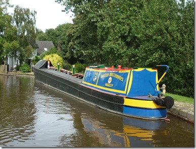 7 hadley moored at tatenhall lock