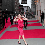 WWW.ENTSIMAGES.COM -   Lizzie Cundy    at      The Olivier Awards at Royal Opera House, Covent Garden, London, April 28th 2013                                               Photo Mobis Photos/OIC 0203 174 1069