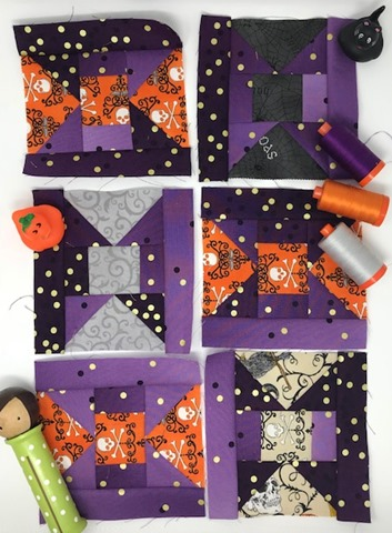 Neapolitan Quilt Blocks by Kim Lapacek