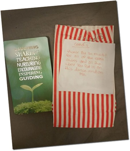 Amberlie's letter