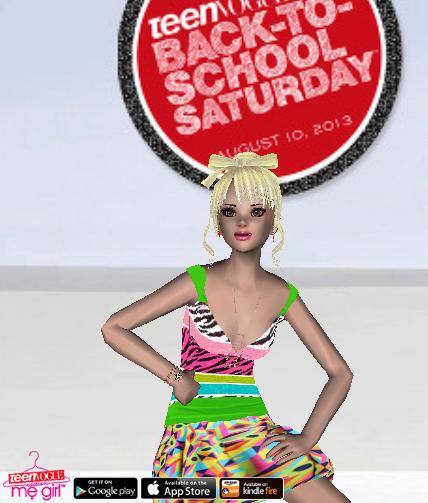 Teen Vogue Me Girl Level 41 - BTSS Performance - Reagan - Snapshot
