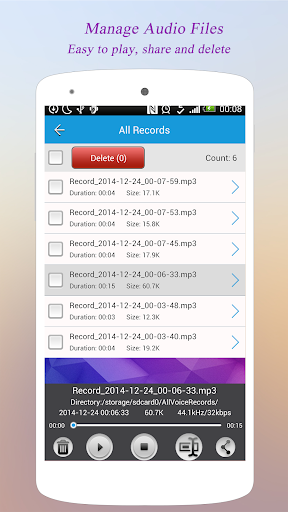 Super Voice Recorder 1.6.70 gameplay | AndroidFC 2