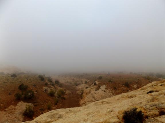 Foggy Thursday morning