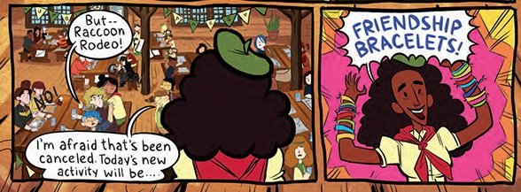 Lumberjanes: Jen says 'Friendship bracelets'