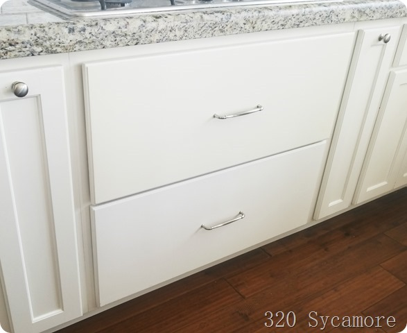 yellowing cabinets