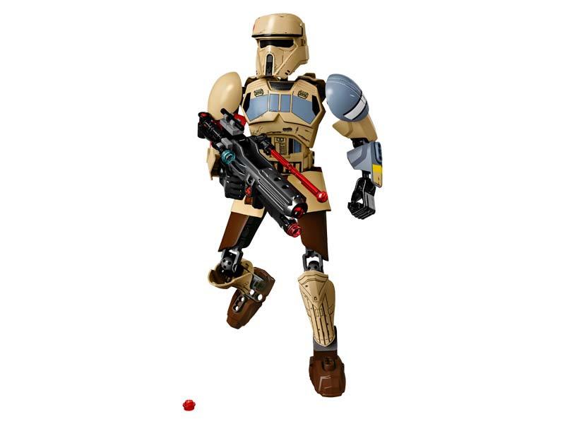Contenido de Lego® 75523 Stormtrooper™ de Scarif