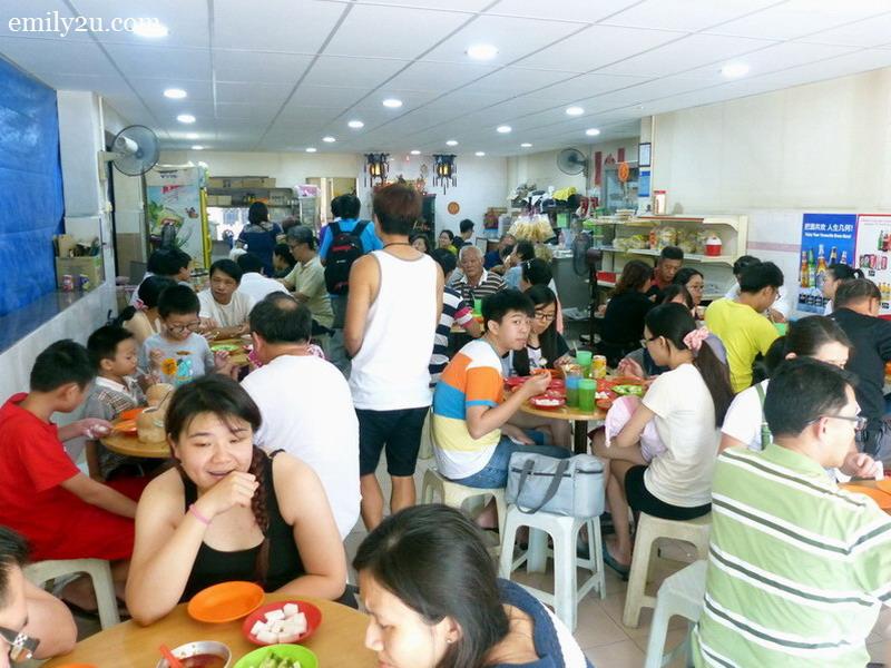 famous Melaka pork satay