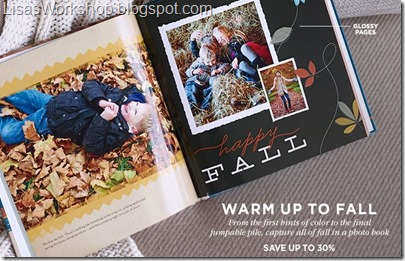 Shutterfly savings at LisasWorkshop.blogspot.com