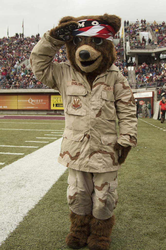 Washington-Grizzly Stadium in Missoula, Mont., October 27th, 2012.