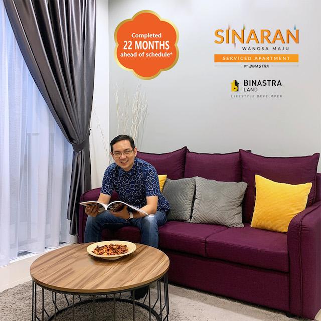 Comfortable home living with Binastra Land