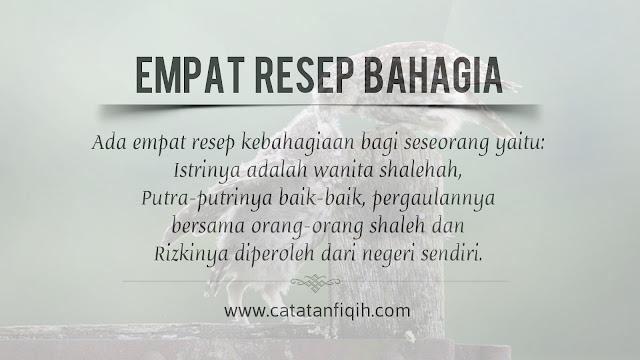 resep bahagia