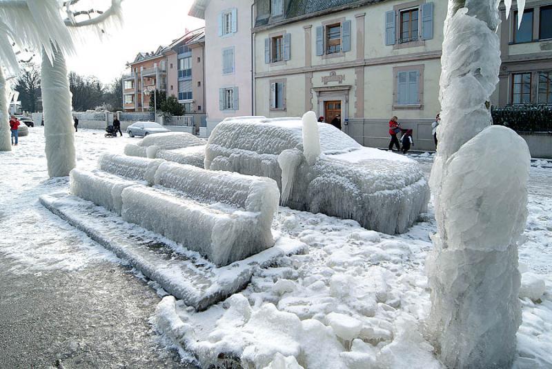 Un dia de frio
