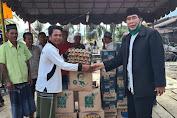 Peduli Korban Kebakaran, Tgk H Syarifuddin MA Serahkan Bantuan