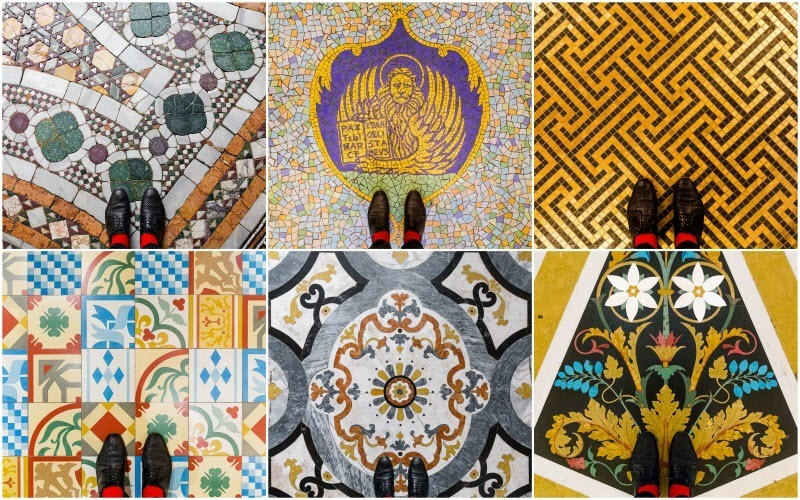 The Beautiful Floor Mosaics of Venice