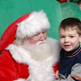 Boys with Santa 2010