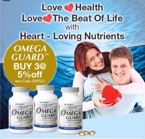 Promosi januari 2018, omega guard shaklee