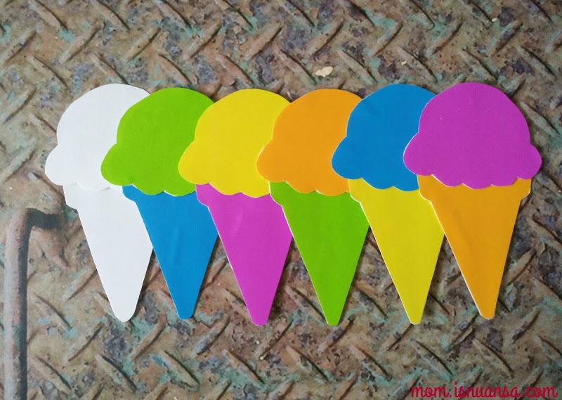 Es Krim Plastik DIY Printable