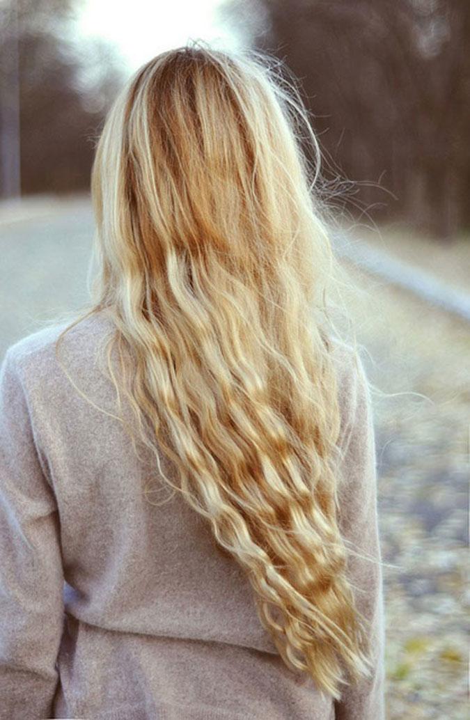 MERMAID WAVES HAIRSTYLES FOR LADY IN 2018 2