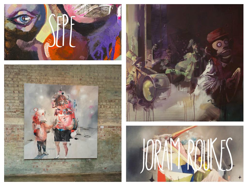 LONDON SHOS: SEPE Y JORAM ROUKES